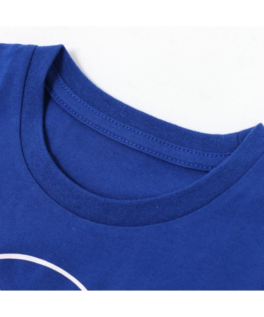 Mother garden こぴよフレンズ Tシャツ 半袖 キッズ こねむ アイス柄 青色 子供 キッズ 0