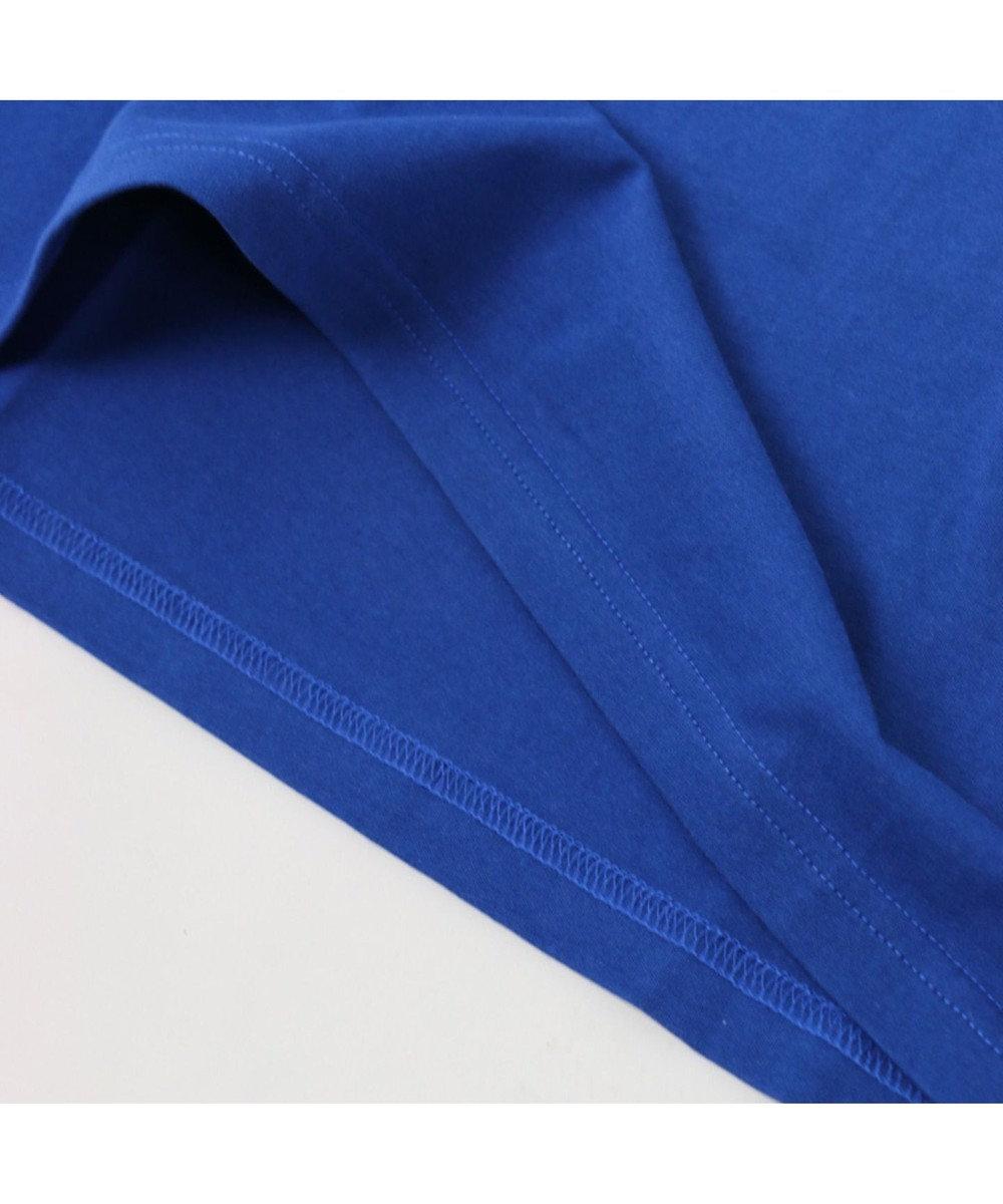 Mother garden こぴよフレンズ Tシャツ 半袖 こねむ アイス柄 青色 ユニセックス 0