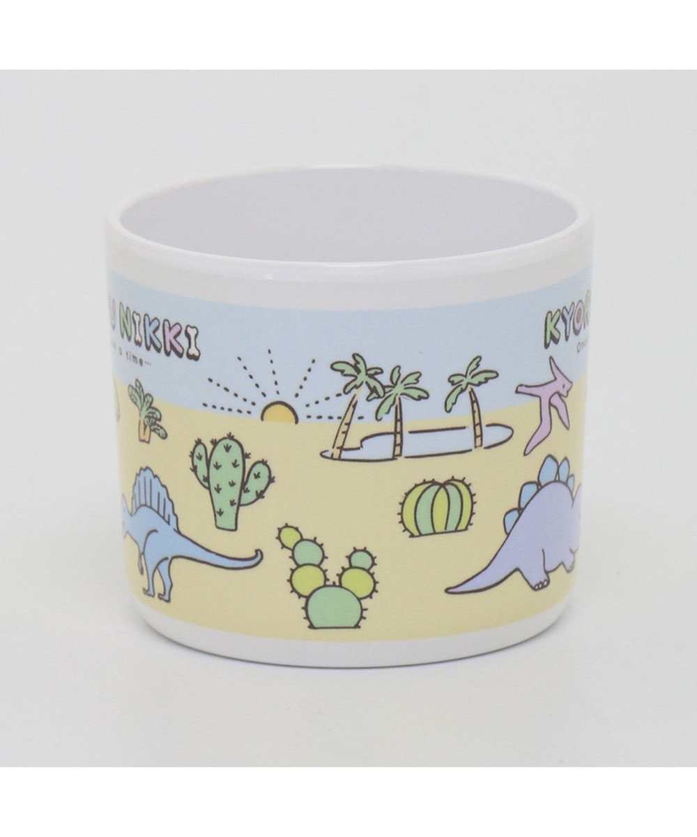 Mother garden きょうりゅう日記 メラミンカップ 持ち手付きマグ 0