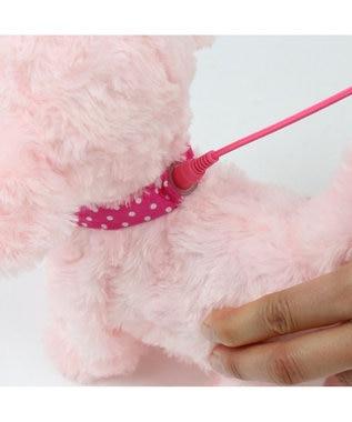 Mother garden 《シリーズ累計販売 72000個突破》 マザーガーデン  《もこもこプードルちゃん ・ピンク》単品 動く 犬のぬいぐるみ いっしょに一緒にお散歩 わんちゃん 歩くおもちゃ わんわん 動くおもちゃ 女の子 男の子 お家遊び 家遊び 玩具 ピンク