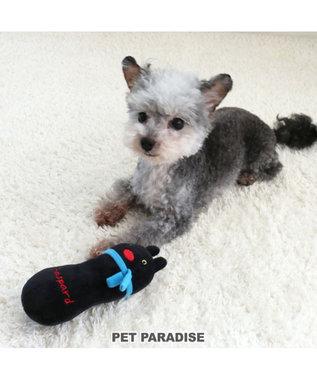 PET PARADISE リサとガスパール  犬用おもちゃ にぎにぎ トイ ガスパール 黒