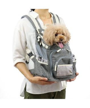 PET PARADISE ペットパラダイス 抱っこ&リュックキャリーM 灰小型犬 グレー