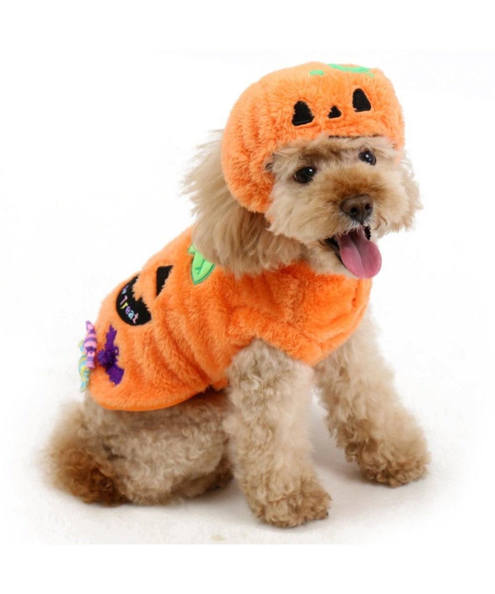 PET PARADISE ペットパラダイス かぼちゃ ベスト〔小型犬〕 オレンジ