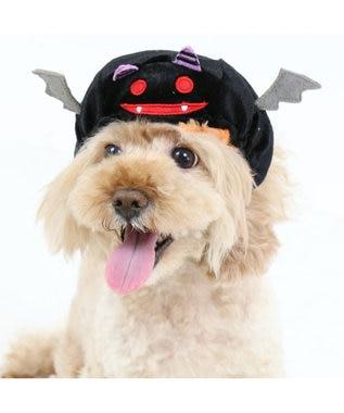 PET PARADISE ペットパラダイス かぼちゃ こうもり 帽子〔小型犬〕 オレンジ