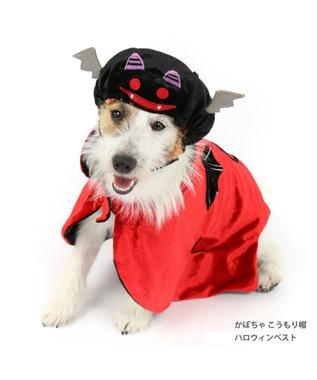PET PARADISE ペットパラダイス ハロウィン マント〔小型犬〕 黒
