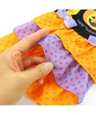 PET PARADISE ペットパラダイス かぼちゃ ワンピース〔小型犬〕 オレンジ