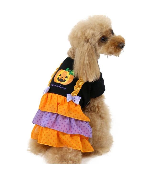 PET PARADISE ペットパラダイス かぼちゃ ワンピース〔小型犬〕