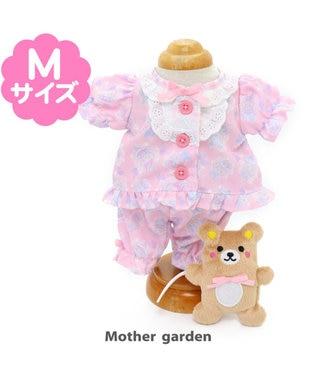 Mother garden うさもも マスコット用きせかえ服M バレエ柄パジャマ 0