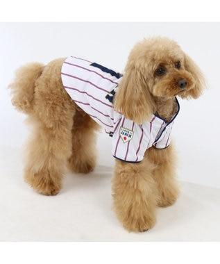 PET PARADISE 野球日本代表侍ジャパン ユニフォーム Tシャツ 白〔小型犬〕 白~オフホワイト