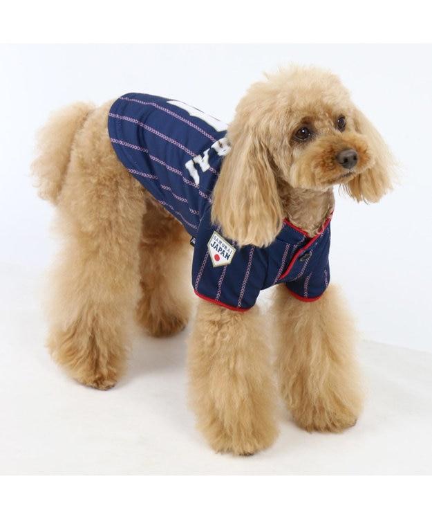 PET PARADISE 野球日本代表侍ジャパン ユニフォーム Tシャツ 紺〔小型犬〕