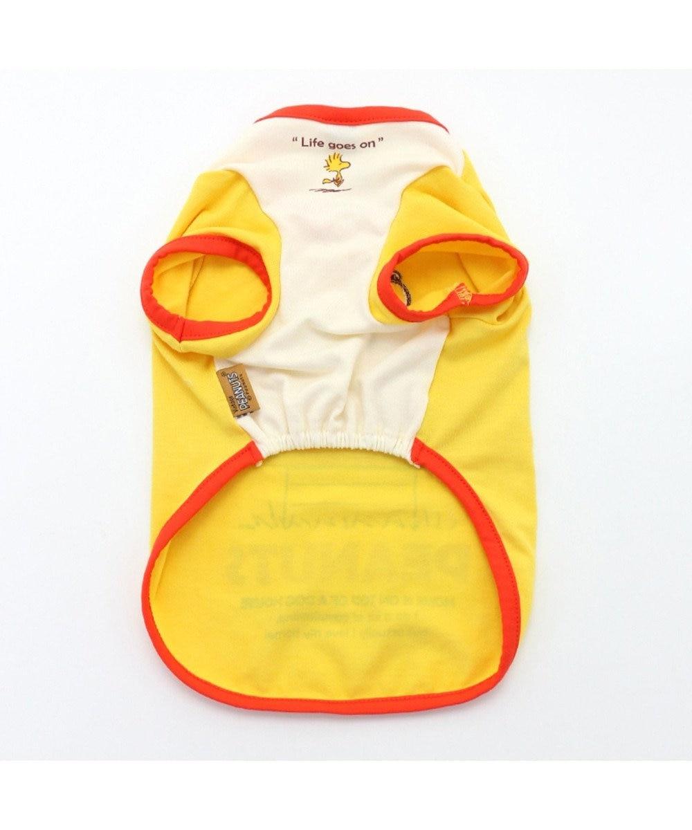 PET PARADISE スヌーピー 赤屋根 ペティヒート Tシャツ〔小型犬〕 黄
