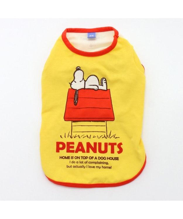 PET PARADISE スヌーピー 赤屋根 ペティヒート Tシャツ〔小型犬〕