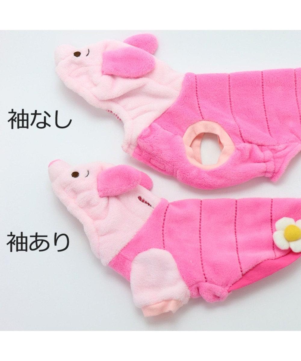 PET PARADISE ディズニー くまのプーさん 変身なりきり ピグレット〔小型犬〕 ピンク(淡)