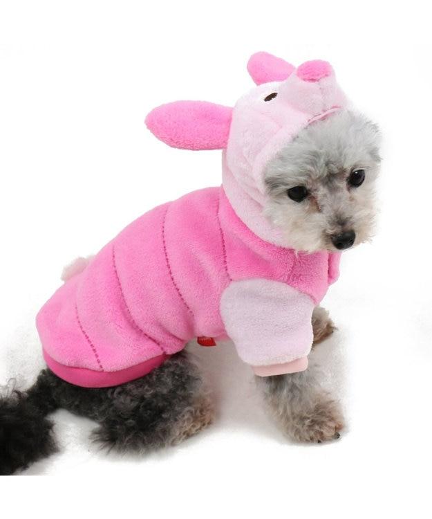 PET PARADISE ディズニー くまのプーさん 変身なりきり ピグレット〔小型犬〕