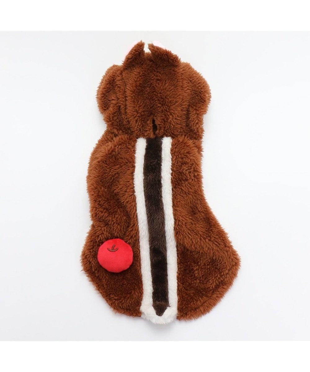 PET PARADISE ディズニー チップとデール 変身なりきり チップ〔小型犬〕 茶系