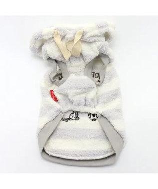 PET PARADISE ネット店限定 スヌーピー ファーロン パーカー〔小型犬〕 白~オフホワイト