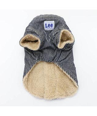 PET PARADISE Lee エンジニア ジャケット〔小型犬〕 紺(ネイビー・インディゴ)