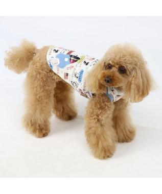 PET PARADISE スヌーピー アストロ ペティヒート タンク〔中・大型犬〕 白~オフホワイト