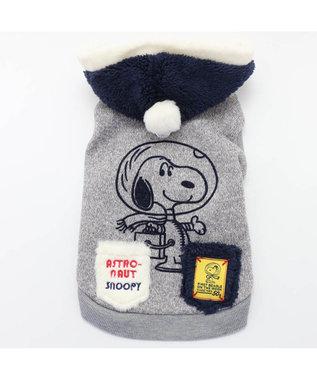 PET PARADISE スヌーピー アストロ アクティブ ニット〔小型犬〕 グレー
