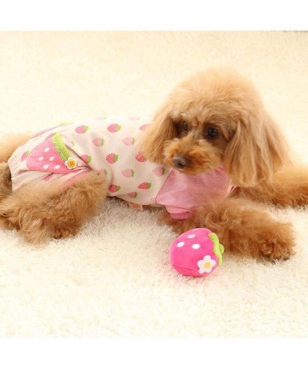 PET PARADISE ペットパラダイス 犬用おもちゃ 苺 コロコロ トイ ピンク