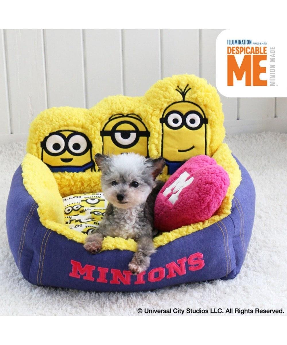 PET PARADISE ミニオン ペットカドラーベッド ひょっこり ベッド カドラー 黄