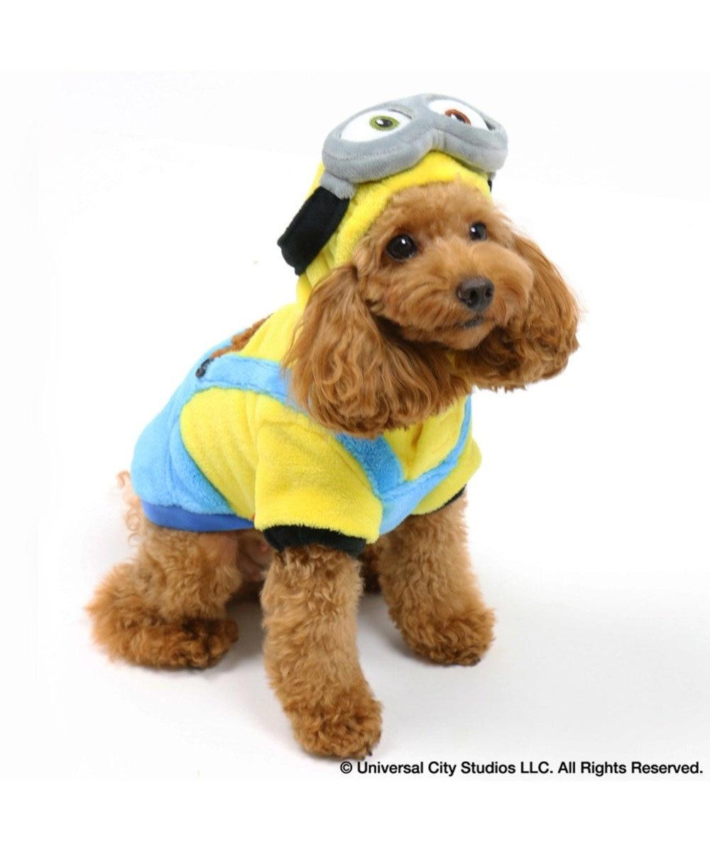 PET PARADISE ミニオン 変身なりきり服 ボブ パーカー〔小型犬〕 黄