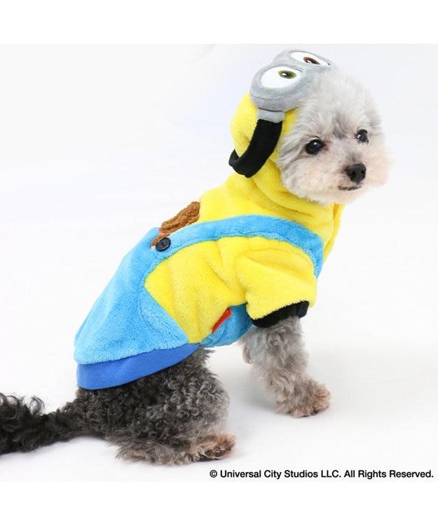 PET PARADISE ミニオン 変身なりきり服 ボブ パーカー〔小型犬〕