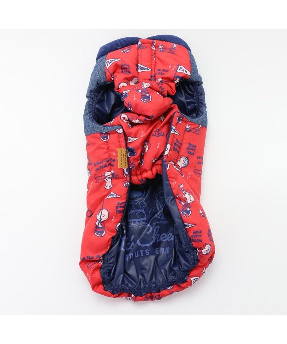 PET PARADISE ペットパラダイス スヌーピー チアー エアベスト 赤 〔小型犬〕 赤