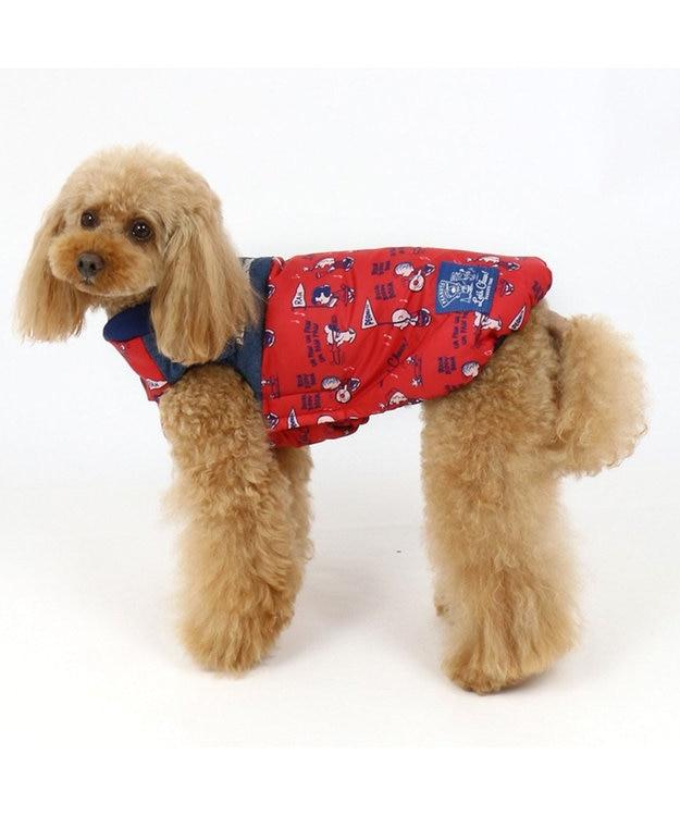 PET PARADISE ペットパラダイス スヌーピー チアー エアベスト 赤 〔小型犬〕