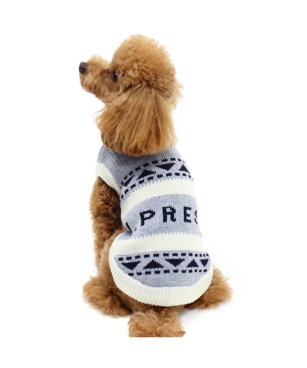 PET PARADISE J.PRESS カウチン ニット グレー 〔小型犬〕 グレー