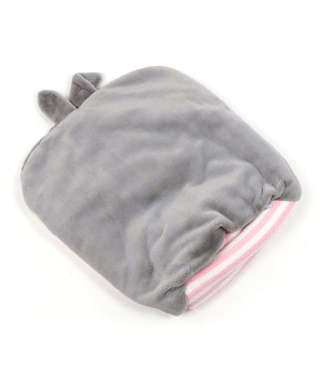 PET PARADISE ペットパラダイス うさぎペット寝袋 もこふわ ピンク(淡)