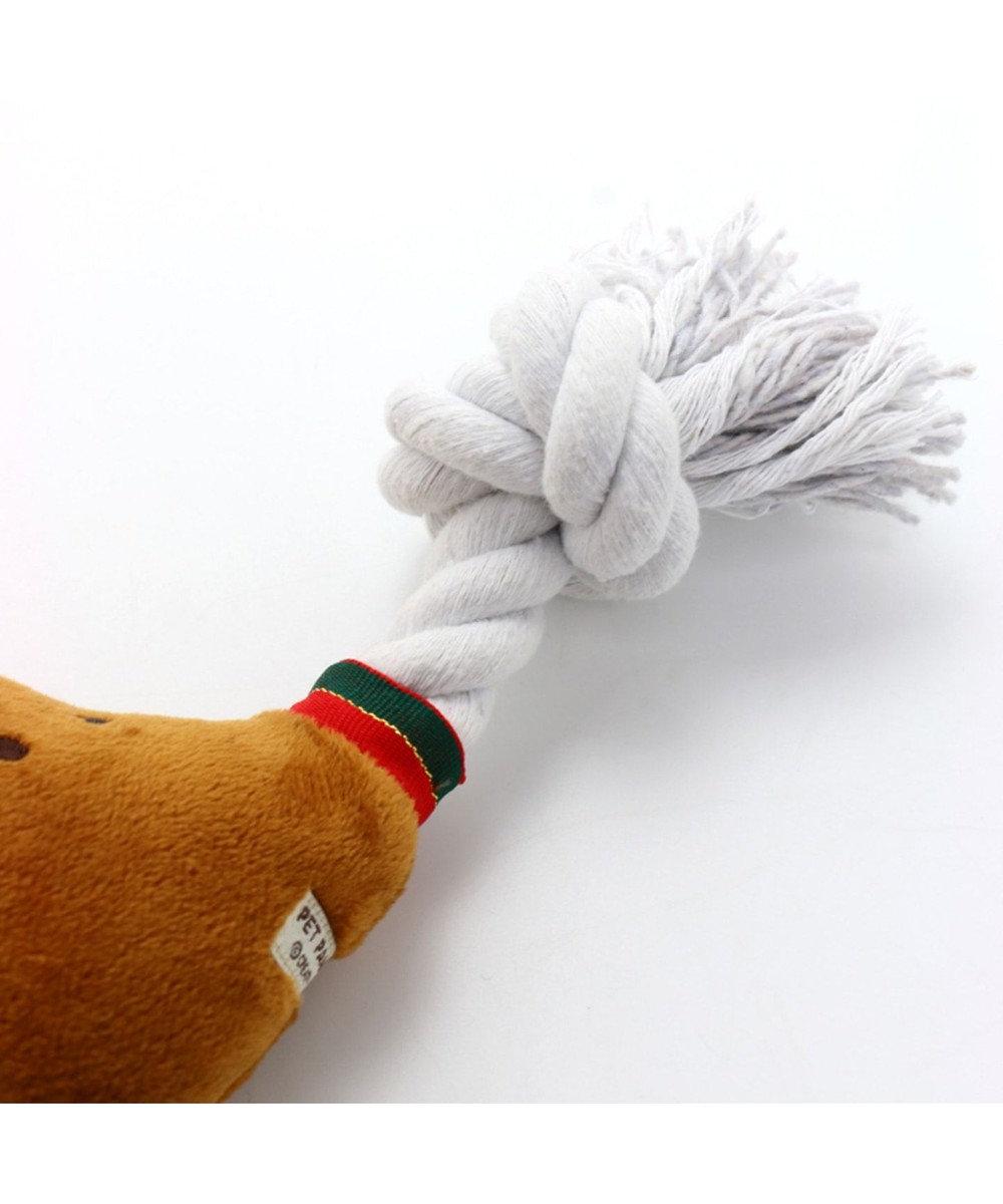 PET PARADISE ペットパラダイス 犬用おもちゃ タンドリーチキン S 156-84761 茶系