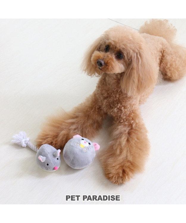 PET PARADISE ペットペットラダイス 犬用おもちゃ ねすみボール トイ 新年 年賀状