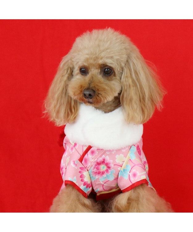 PET PARADISE ペットパラダイス 着物 ピンク〔小型犬〕新年 年賀状 七五三