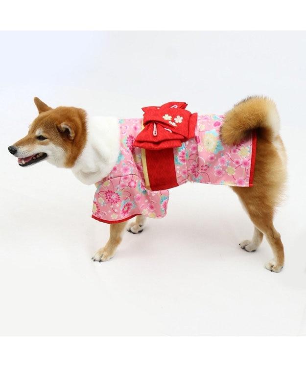 PET PARADISE ペットパラダイス 着物 ピンク〔中・大型犬〕新年 年賀状