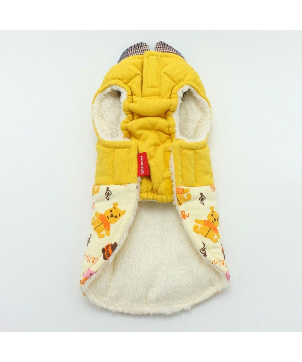 PET PARADISE ディズニー くまのプーさん おもちゃ柄 綿入り ベスト〔小型犬〕 遠赤外線 黄