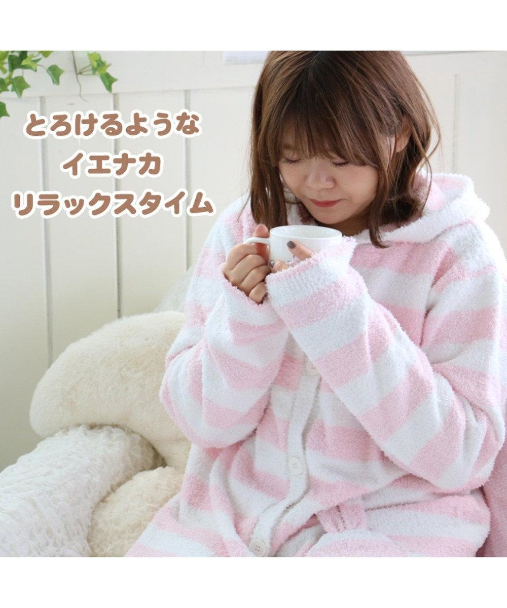 Mother garden マザーガーデン ふわうさ レディーズガウンM うさぎ ピンク(淡)