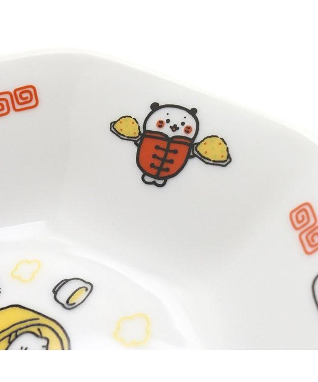 Mother garden しろたん 八角皿 中華柄 単品 日本製