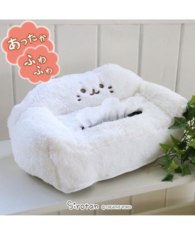 Mother garden しろたん しろもこ ティッシュボックスカバー
