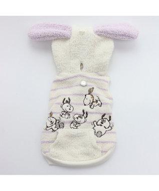 PET PARADISE スヌーピー デイジーヒル パーカー 薄紫〔小型犬〕 ピンク(淡)
