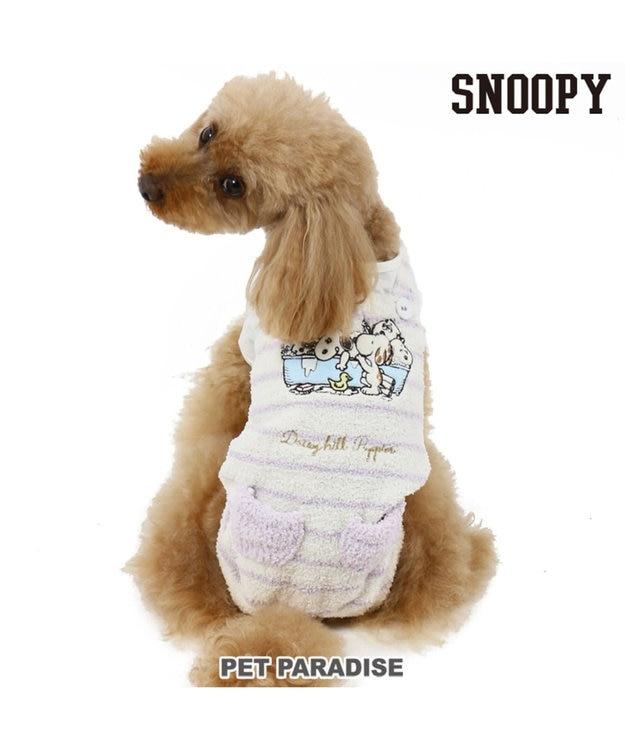 PET PARADISE スヌーピー デイジーヒル オーバーオール ピンク〔小型犬〕