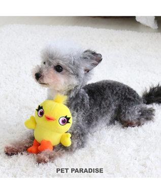 PET PARADISE ペットパラダイス ディズニー 犬用おもちゃ トイストーリー ダッキー 黄