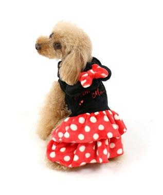 PET PARADISE ディズニー ミニーマウス 変身なりきり服〔小型犬〕 黒