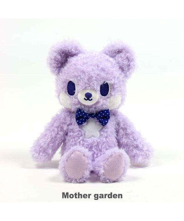 Mother garden くまのロゼット もこもこ ぬいぐるみ 着せ替え 知育玩具