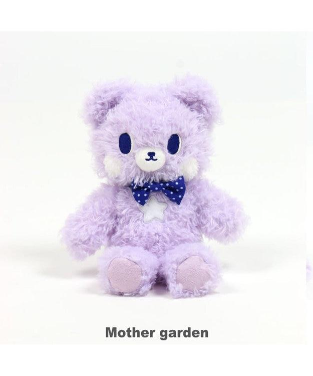 Mother garden くまのロゼット もこもこ マスコット 着せ替え 知育玩具