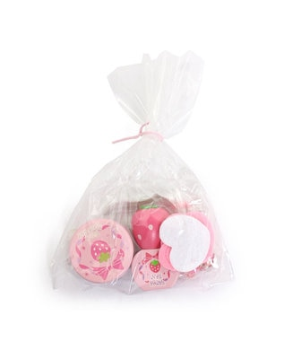 Mother garden マザーガーデン ままごと 《おしろいセット・桃》 ピンク(淡)