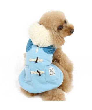 PET PARADISE ペットパラダイス ベスト トグルボタン 青〔小型犬〕 青