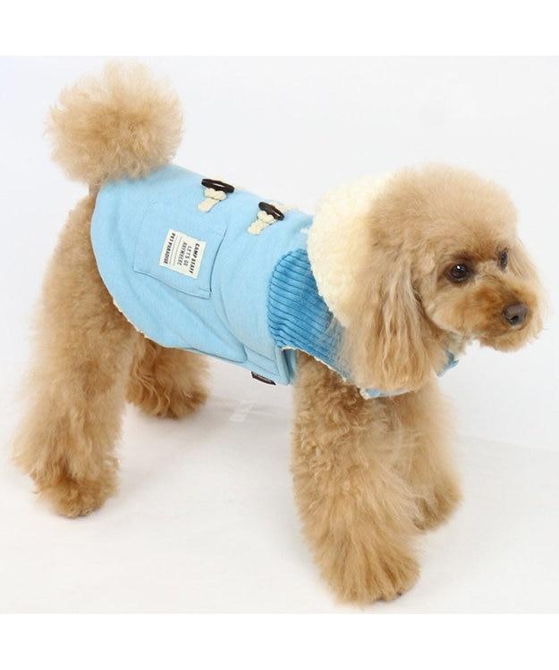 PET PARADISE ペットパラダイス ベスト トグルボタン 青〔小型犬〕