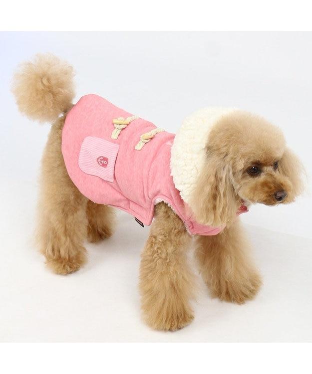 PET PARADISE ペットパラダイス ベスト トグルボタン ピンク〔小型犬〕