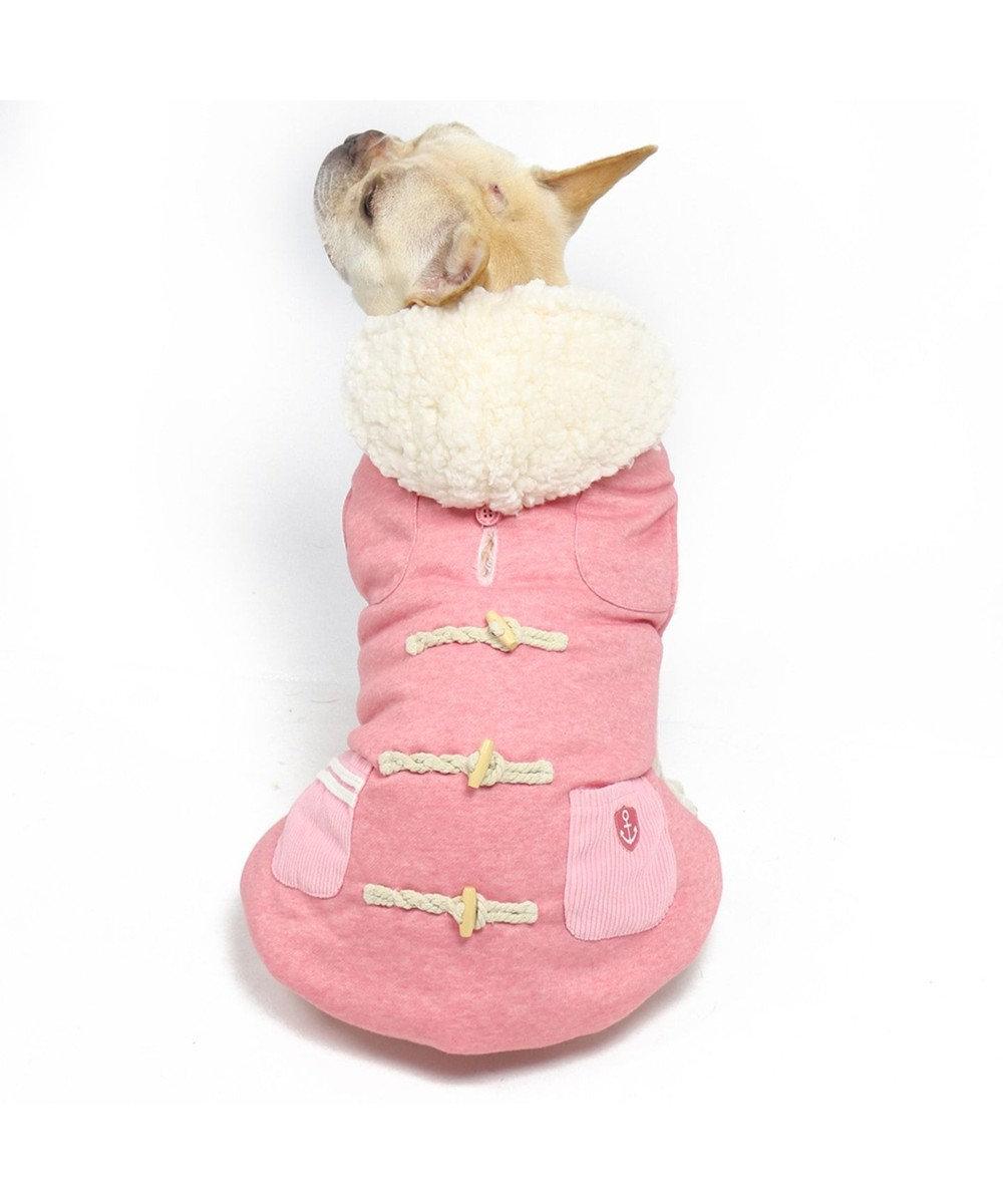 PET PARADISE ペットパラダイス ベスト トグルボタン ピンク〔中・大型犬〕 ピンク(淡)